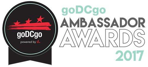 2017 goDCgo Ambassador Awards emblem
