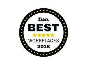 2018 inc best workplaces