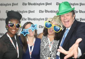 TCGers celebrate at the 2018 Washington Post Top Workplaces Awards.