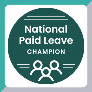National Paid Leave Champion Badge
