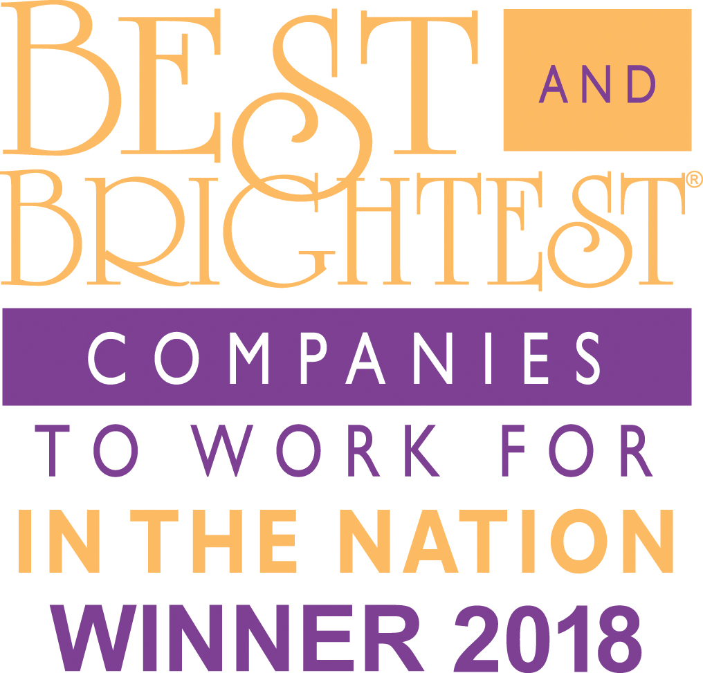 Best and Brightest Companies to Work for in the Nation, 2018 Winner, emblem