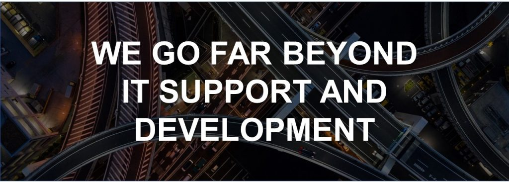 For DOT, we go far beyond it support and development
