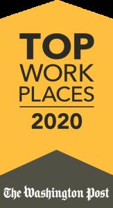 2020 Washington Post Top Workplace