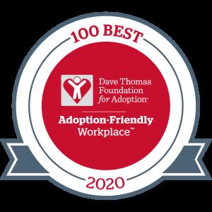Dave Thomas Foundation for Adoption 100Best Adoption-Friendly Workplaces