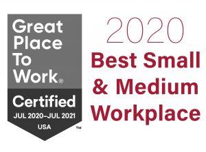 2020 Best Small & Medium Workplace